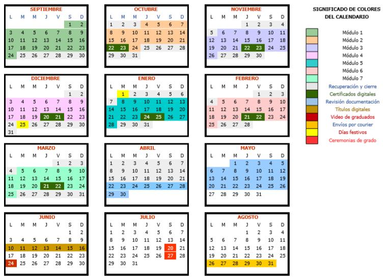 Calendario Alejandria